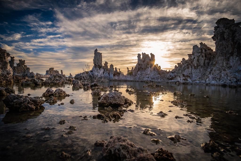 The Mono Lake Tufas Look Otherworldly