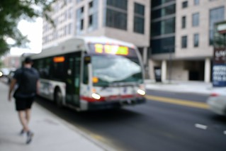 Guess where Chicago - Very blurry CTA bus edition