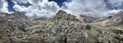 Pinchot Pass Panorama - John Muir Trail