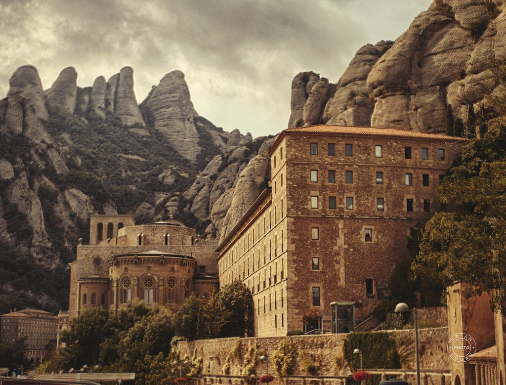 The Santa Maria de Montserrat Abbey