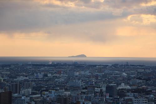 matsuyama shikoku japan japon ville coucherdesoleil sunset