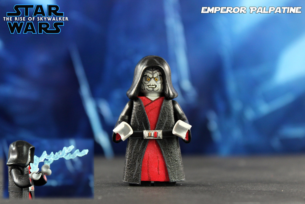 Custom Lego Star Wars The Rise Of Skywalker Emperor Pal Flickr