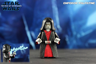 Custom Lego Star Wars The Rise Of Skywalker Emperor Pal Flickr