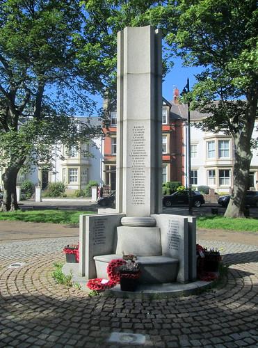 War Memorial, Tynemouth, West Aspect