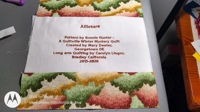 Allietare label