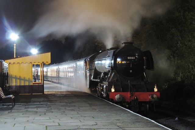 60103 'Flying Scotsman'   Rawtenstall   East Lancashire Railway   14.10.2016
