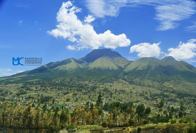 Monte Imbabura desde Eugenio Espejo
