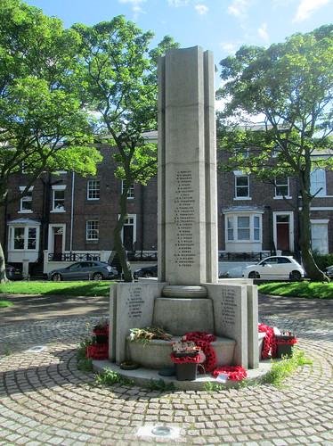 East Aspect, Tynemouth War Memorial