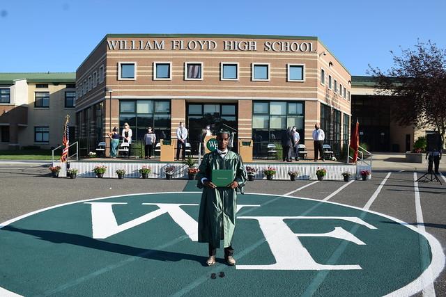 2020 William Floyd High School Graduation - Day 1 - June 22, 2020