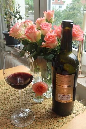 Uno Primitivo di Manduria (2018er Rotwein der Masseria La Volpe)