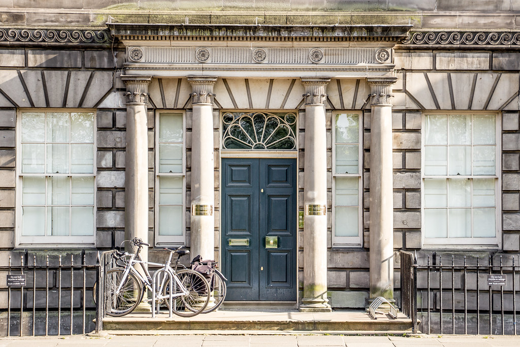Royal College of Physicians and Surgeons, No. 8 Queen Street, New Town, Edinburgh, Scotland