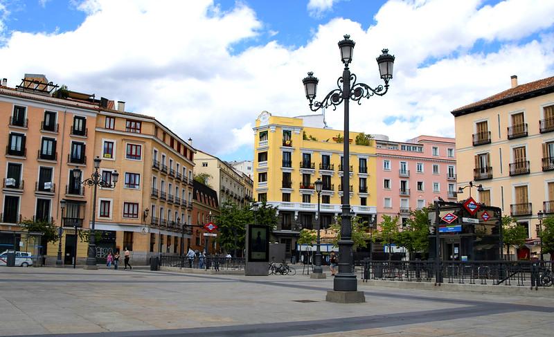 PLAZA DE ISABEL II  OPERA MADRID 1077 13-6-2020