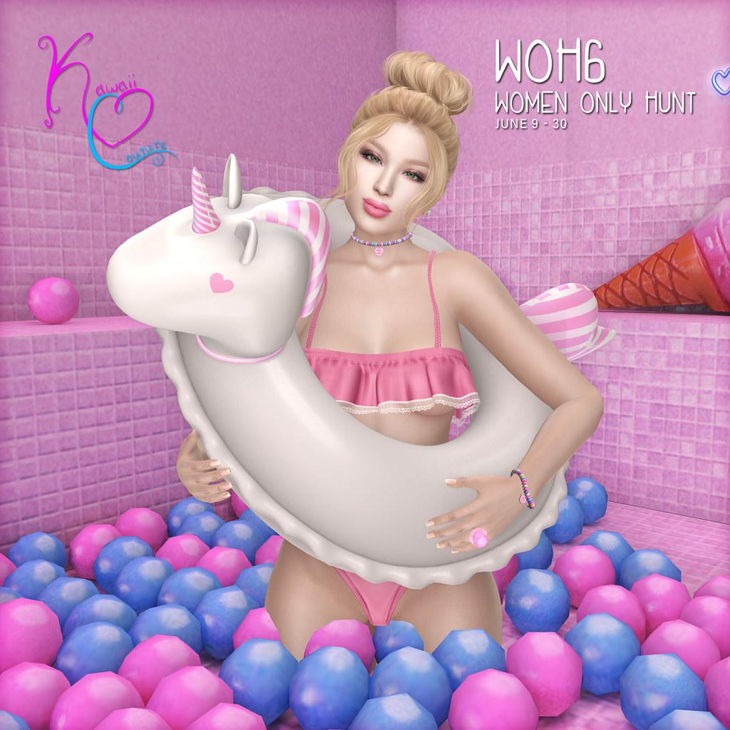 Kawaii Couture WOH Unicorn Floaties AD 2