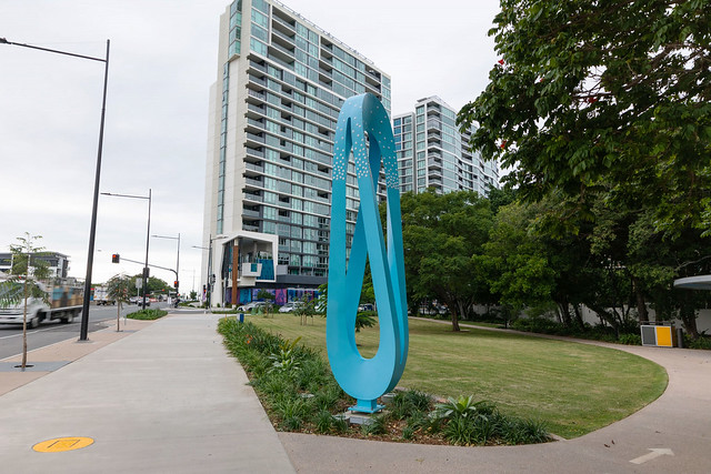 Kingsford Smith Drive Public Art Trail