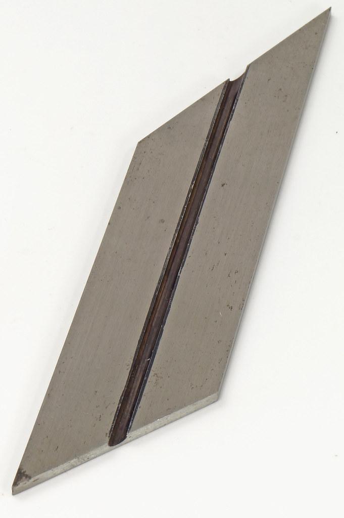 RD19915 Vintage L. S. Starrett No. 13 Bevel Blade Hexagon Octagon 4 inch DSC08312