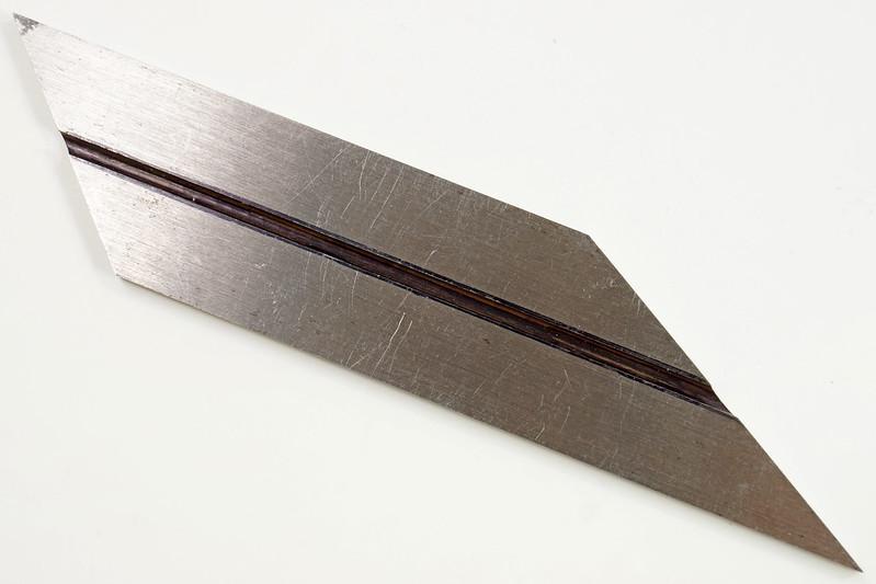 RD19915 Vintage L. S. Starrett No. 13 Bevel Blade Hexagon Octagon 4 inch DSC08307