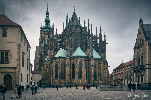 Prague Cathedral apse