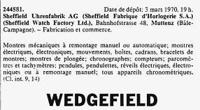 Sheffield Wedgefield