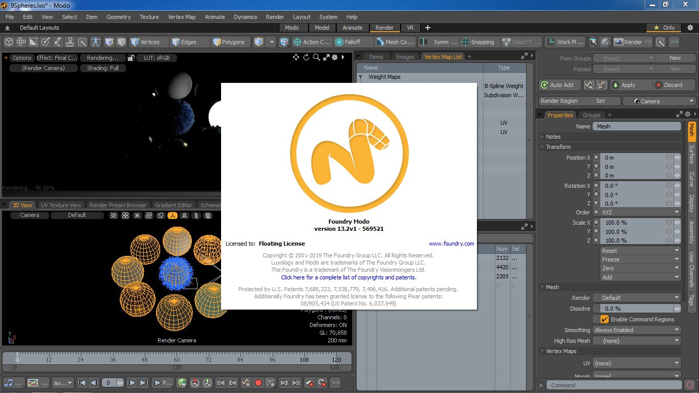 Working with The Foundry Modo 13.2v1 full license