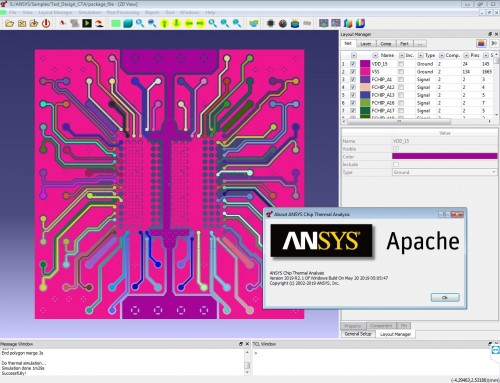Working with ANSYS CTA (Chip Thermal Analysis) 2019 R2.1 full