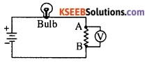 KSEEB Class 10 Science Important Questions Chapter 12 Electricity 5