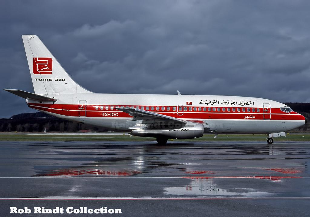 Tunisair B737-2H3/Advanced TS-IOC