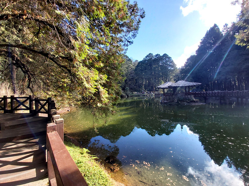 Mt. Data: Sister Pond in Alishan