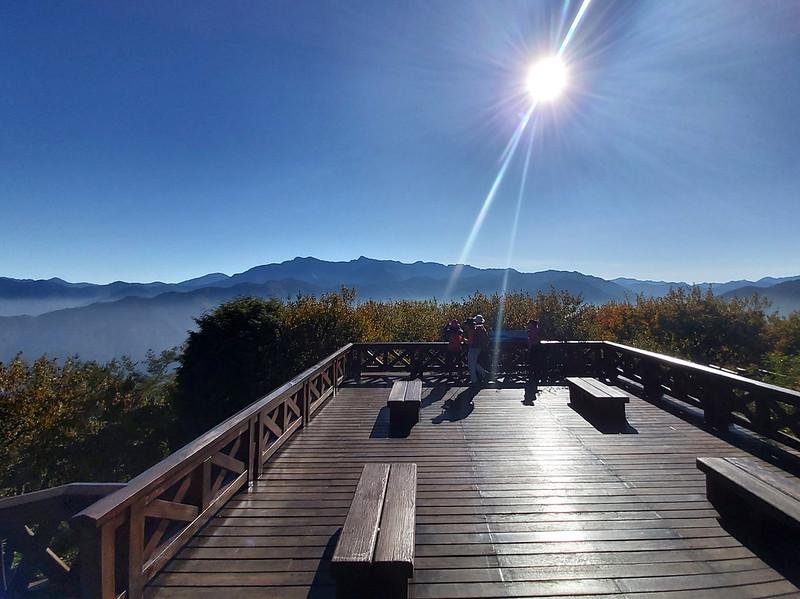 Mt. Data: view of Mt. Yu peaks