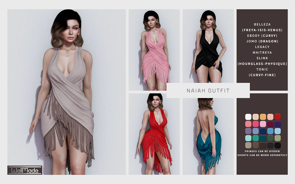 [WellMade] Naiah Outfit