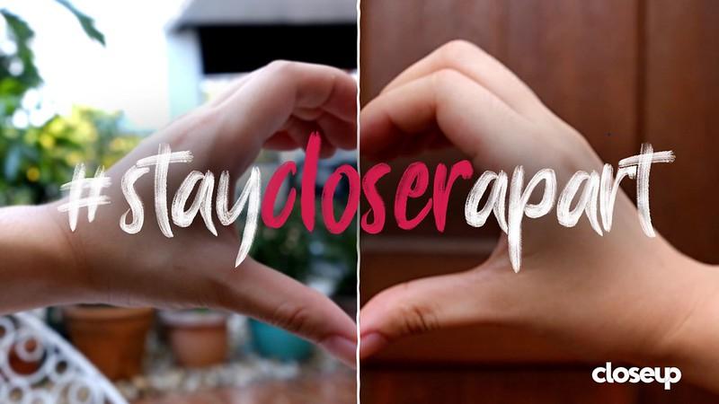 #StayCloserApart