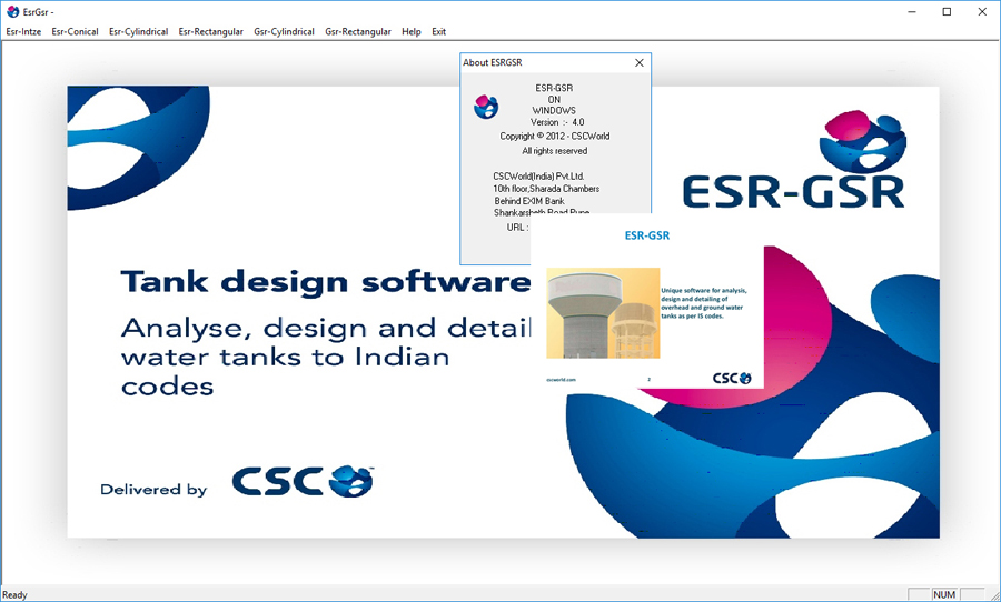 Working CSC ESR-GSR v4.0 full license