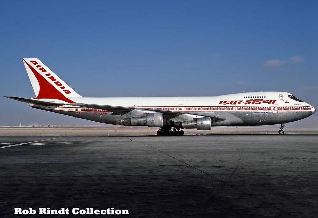 Air India B747-237B VT-EFO