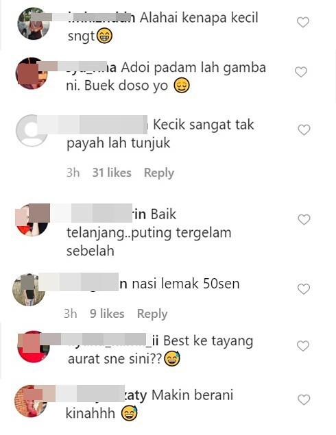 Netizen Tegur Foto Sharifah Sakinah di Instagram, Responnya Seolah Tambah Bara Api