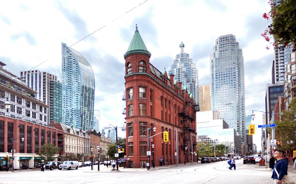 The Gooderham Building. Toronto.