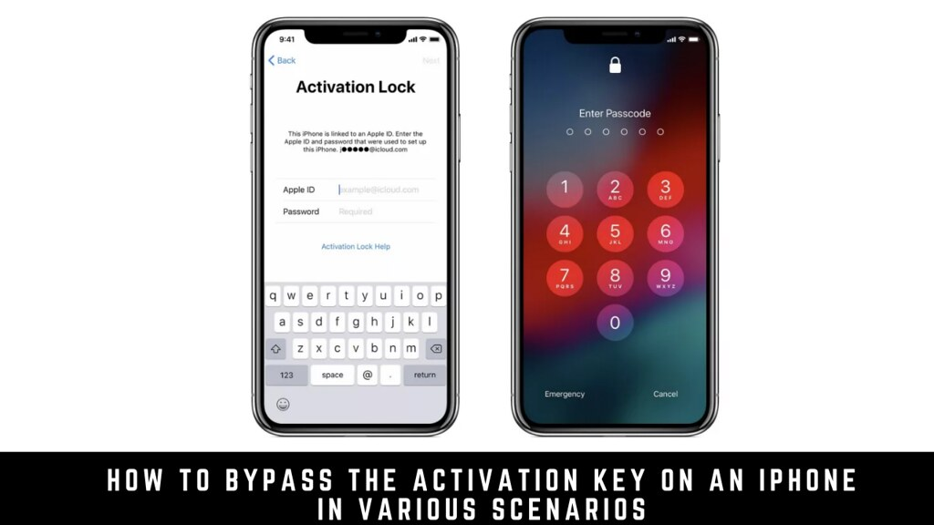 How to bypass the activation key on an iPhone in various scenarios