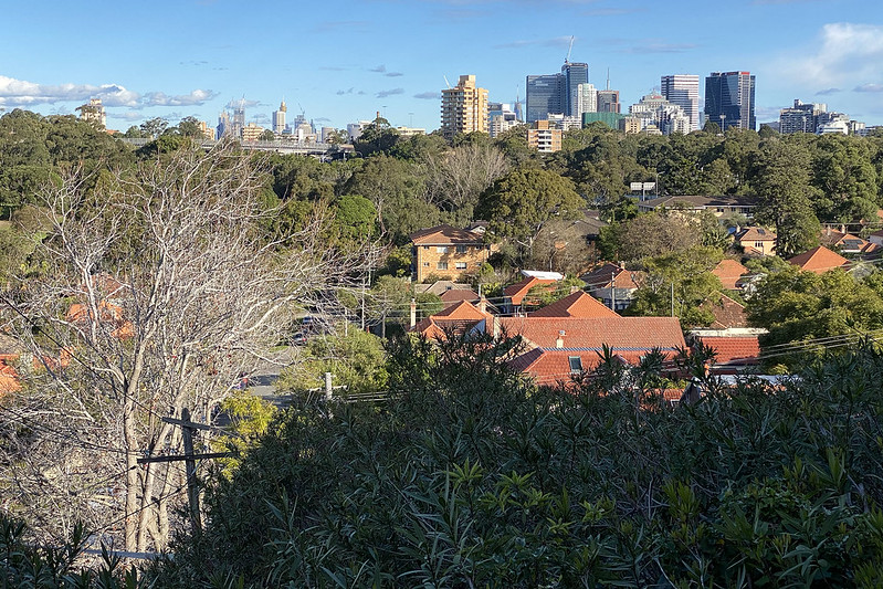 City view from Cammeray