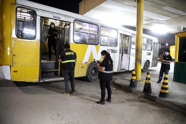 22.06.2020 IMMU fiscaliza e vistoria empresas ônibus coletivos de Manaus