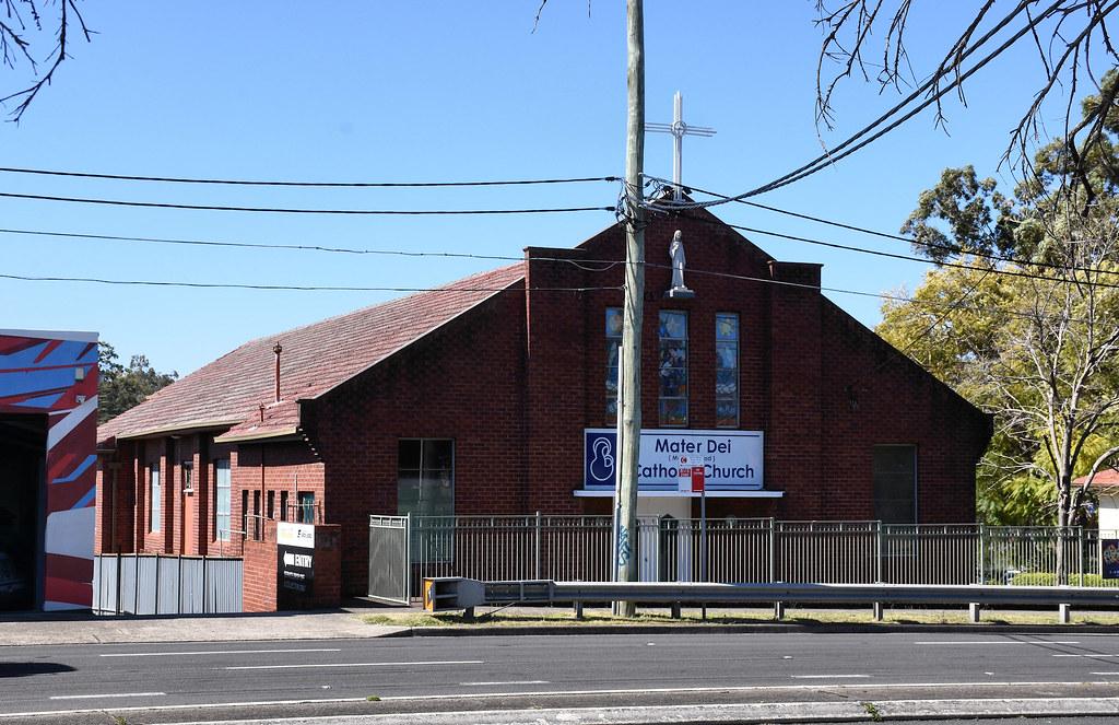Mater Dei Catholic Church, Blakehurst, Sydney, NSW.