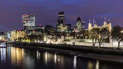 Tower of London, Gherkin, Leadenhall & Walkie Talkie