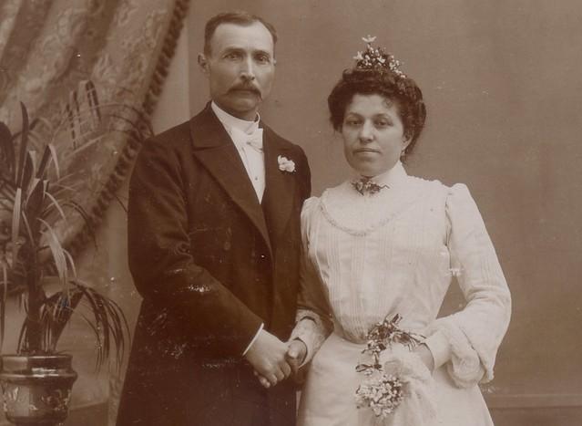 Robe de mariée 1900