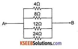 KSEEB Class 10 Science Important Questions Chapter 12 Electricity 50