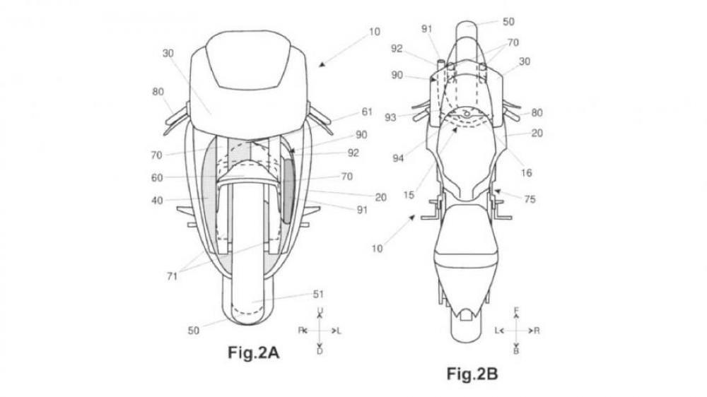 All New Aprilia RSV4 Patent