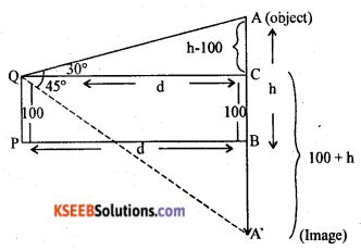 2nd PUC Basic Maths Model Question Paper 2 with Answers Q45