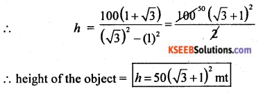 2nd PUC Basic Maths Model Question Paper 2 with Answers Q45.3