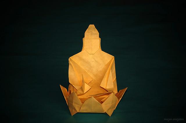 Origami Buddha (Dang Viet Tan)