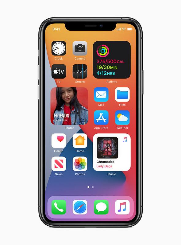 Apple Bakal Lancar iOS 14 Dengan Widget Pada Skrin Utama