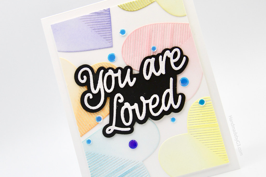 You are loved card closeup1