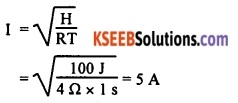 KSEEB Class 10 Science Important Questions Chapter 12 Electricity 64