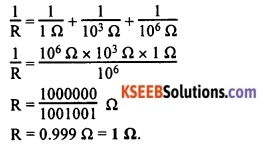 KSEEB Class 10 Science Important Questions Chapter 12 Electricity 45