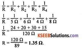 KSEEB Class 10 Science Important Questions Chapter 12 Electricity 40
